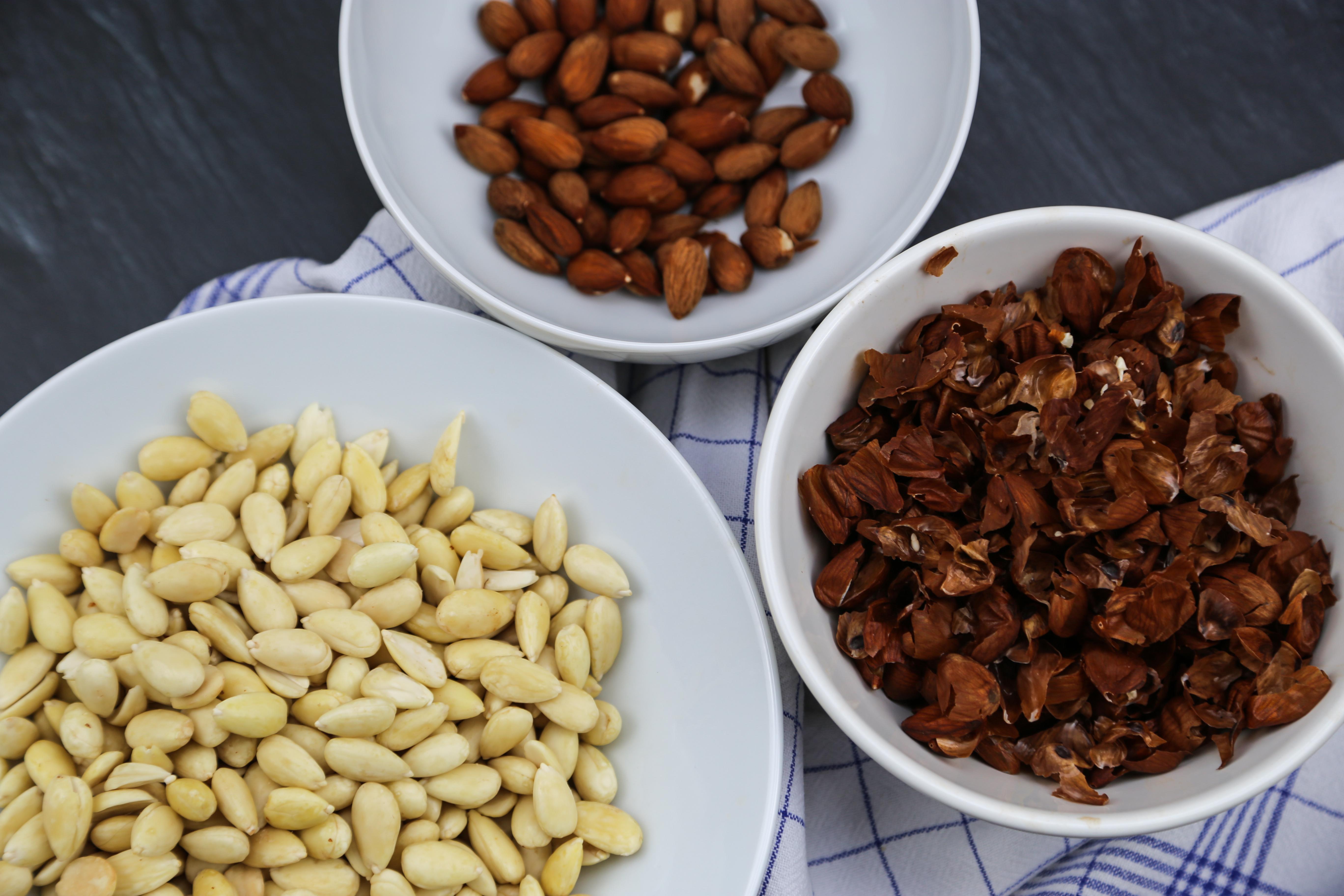 Marzipan selber machen - Mandeln | kuchengeschichten