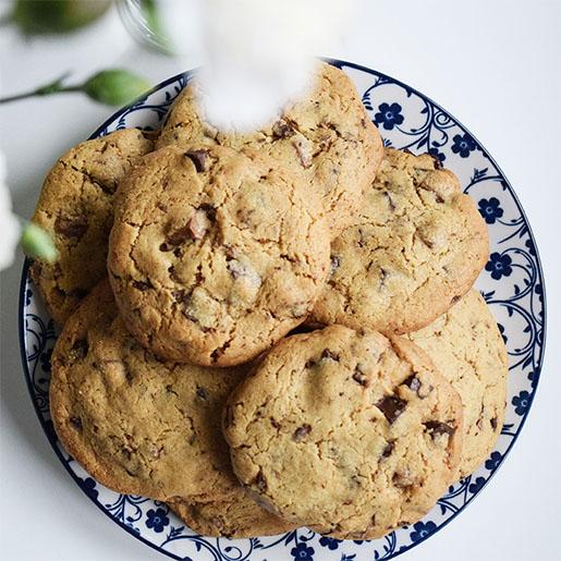 Erdnussbutter Schokolade Cookies | kuchengeschichten