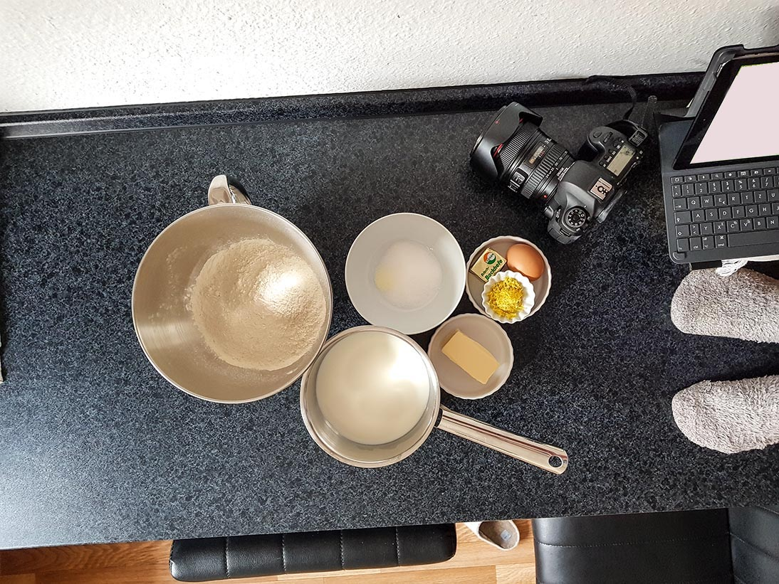 Hinter den Kulissen | kuchengeschichten