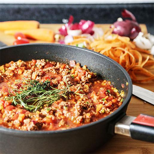 Selbstgemachte Lasagne | kuchengeschichten
