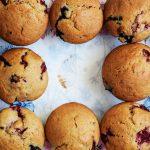 Beerenmuffins | kuchengeschichten