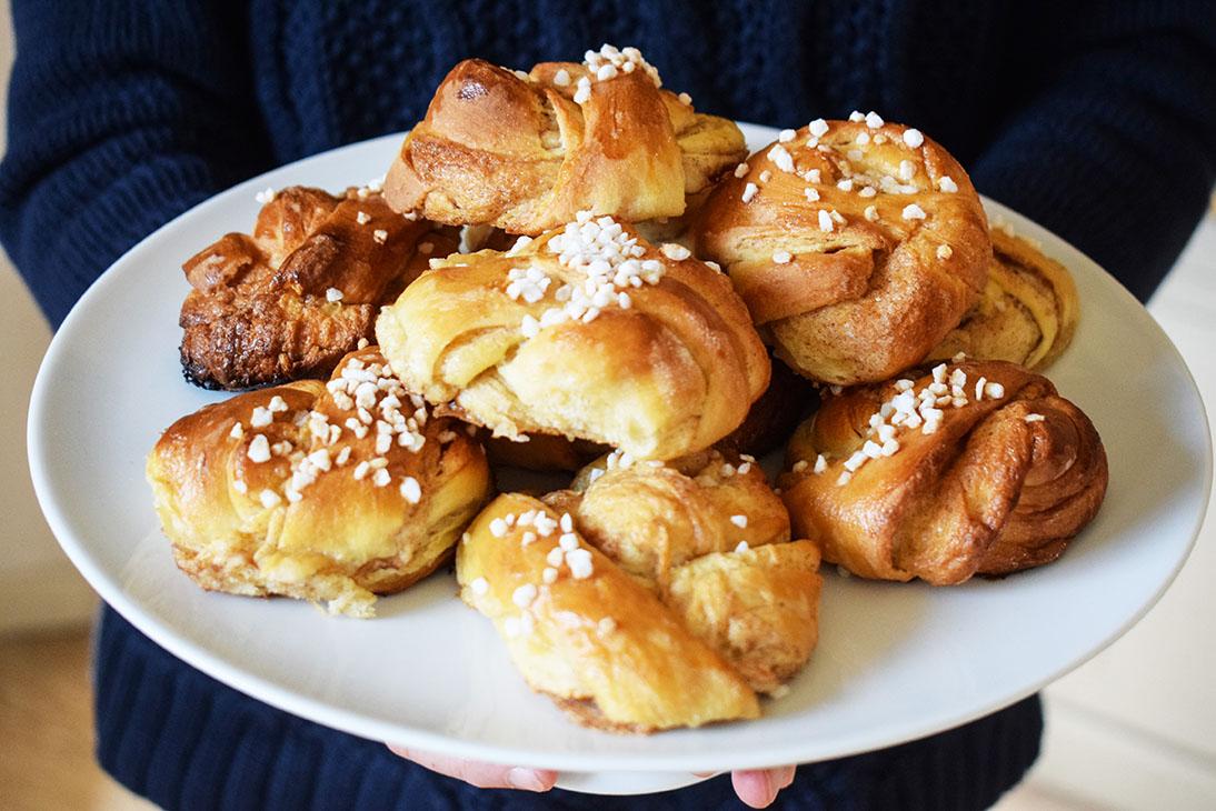 Schwedische Zimtknoten | kuchengeschichten