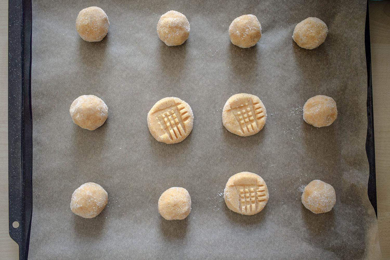 Erdnussbutter Cookies | kuchengeschichten