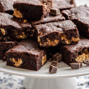 Snickers Brownies | kuchengeschichten