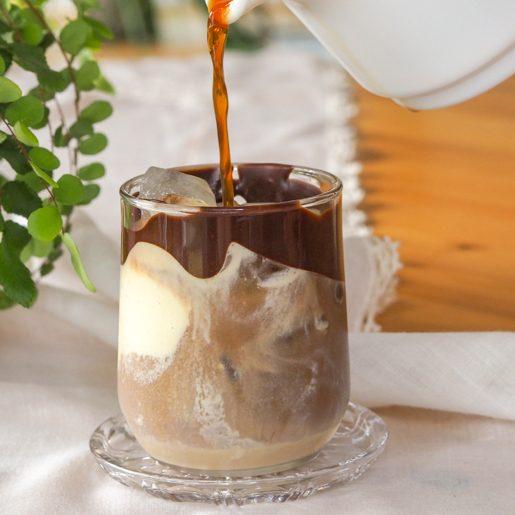 Eiskaffee mit Baileys   kuchengeschichten