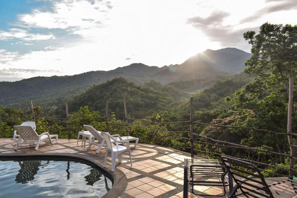 Urlaub in Südamerika Finca Carpe Diem Ausblick Terrasse | kuchengeschichten