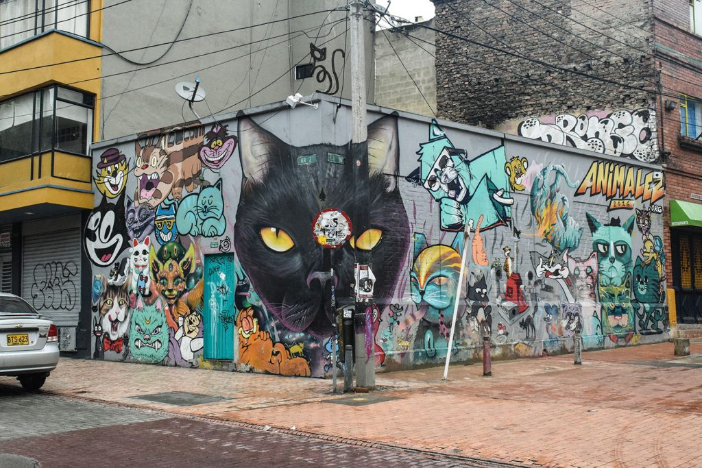 Urlaub in Südamerika Grafittitour Bogota | kuchengeschichten