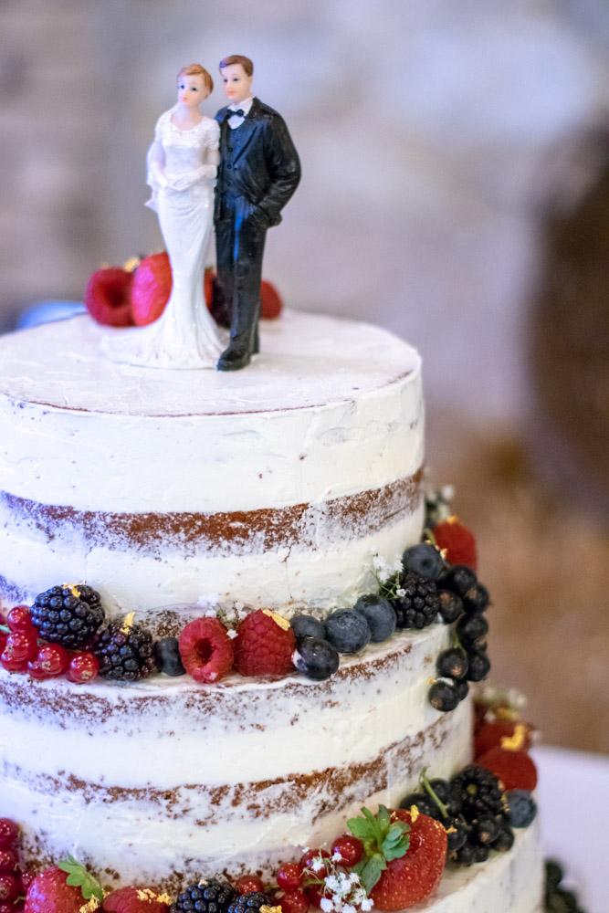 Hochzeitstorte Naked Cake | kuchengeschichten