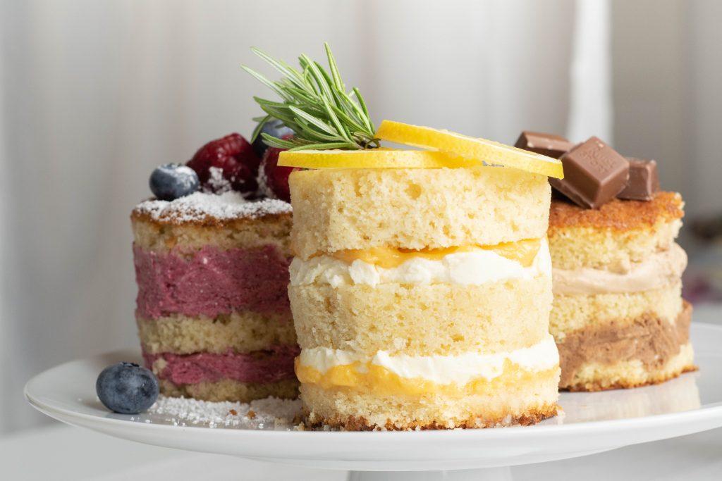 Hochzeitstorten Probeessen - Naked Cake | kuchengeschichten