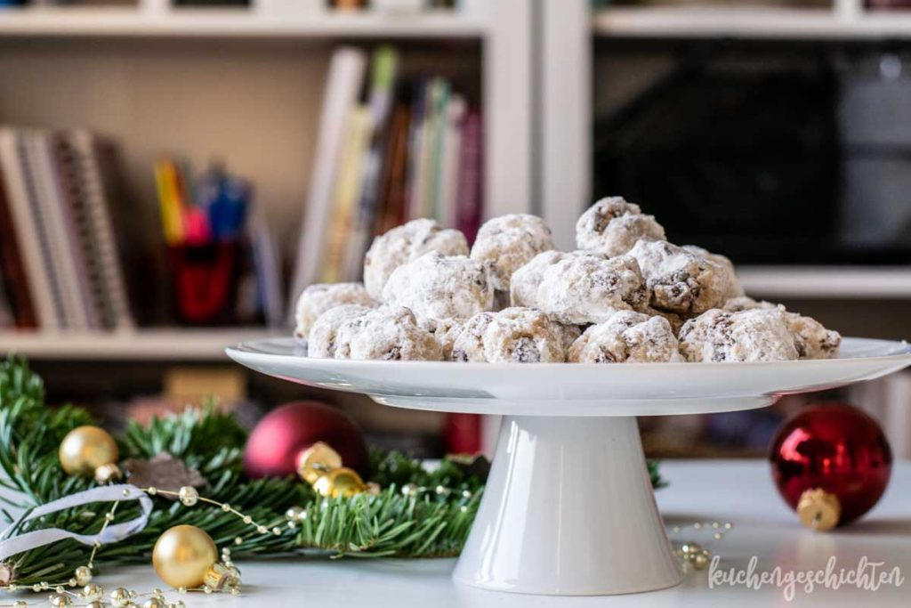 Stollenkonfekt mit Quark | kuchengeschichten