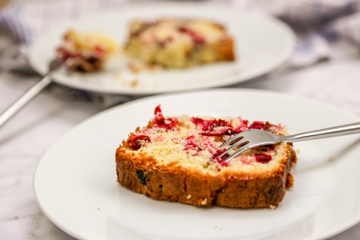 Cranberry Orangen Kuchen | kuchengeschichten