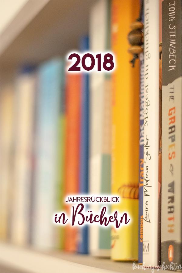 Jahresrückblick 2018 in Büchern und Hörbüchern. Tolle Lesetipps! | kuchengeschichten