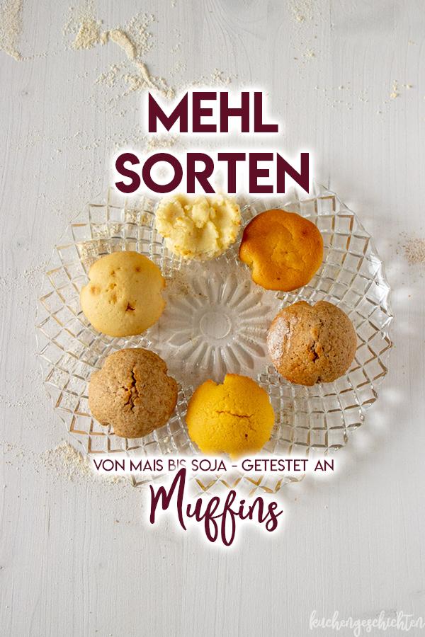 6 verschiedene Mehlsorten, getestet an einem Muffinrezept!