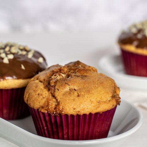 Snickersmuffins   kuchengeschichten