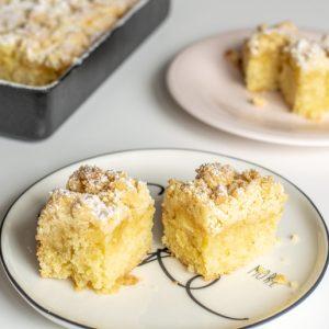Zitronen-Streusel-Kuchen | kuchengeschichten