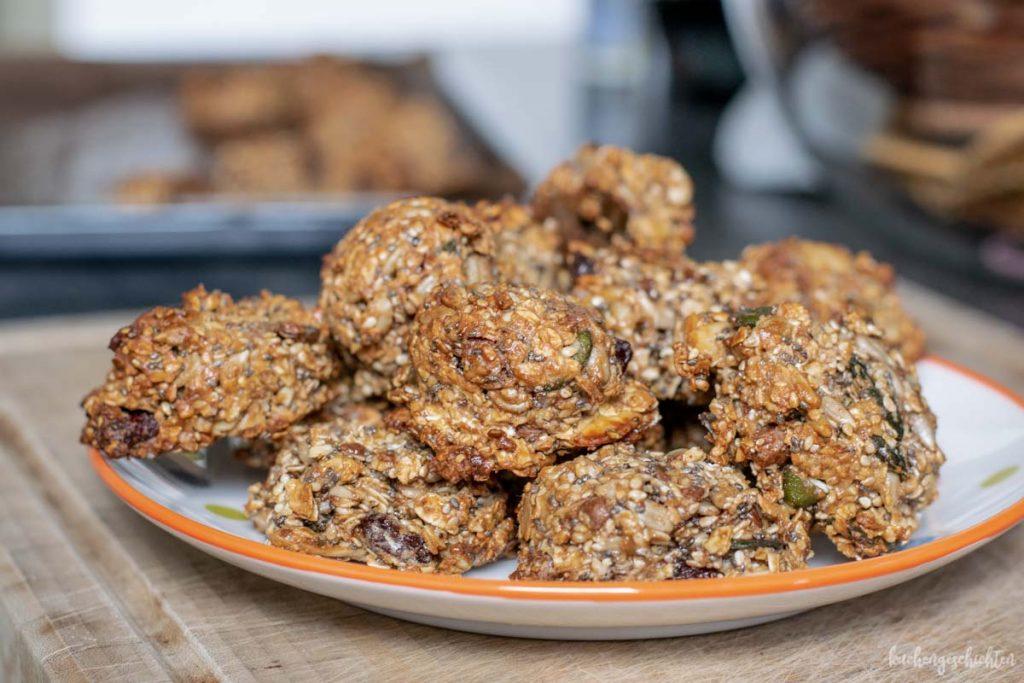 Körnige Frühstückskekse | kuchengeschichten