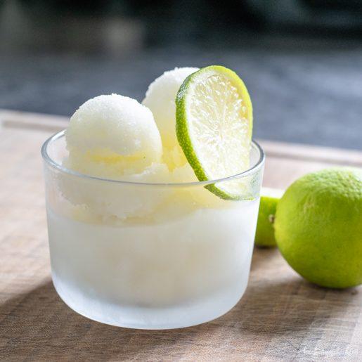 Gin Tonic Sorbet | kuchengeschichten