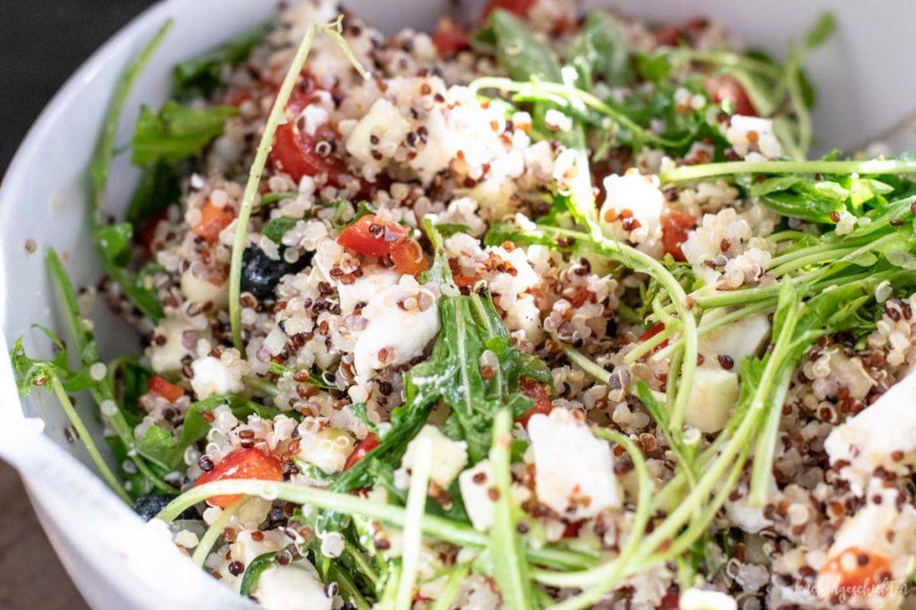 Sommerlicher Quinoasalat | kuchengeschichten