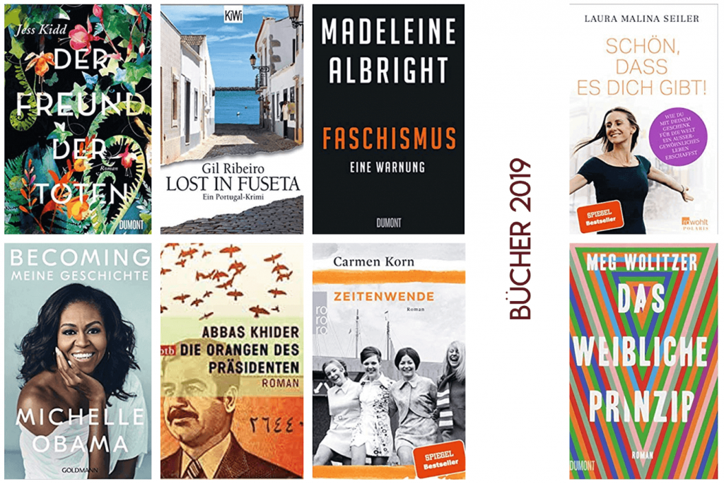 2019 in Büchern - Die besten Bücher aus 2019 | kuchengeschichten