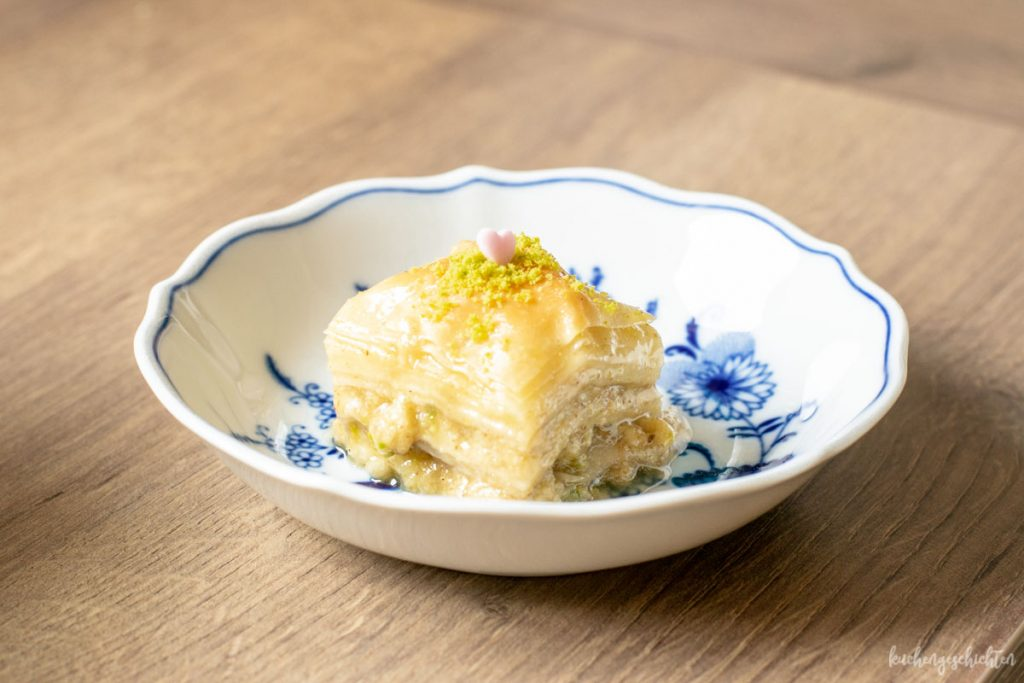 Baklava selbstgemacht | kuchengeschichten