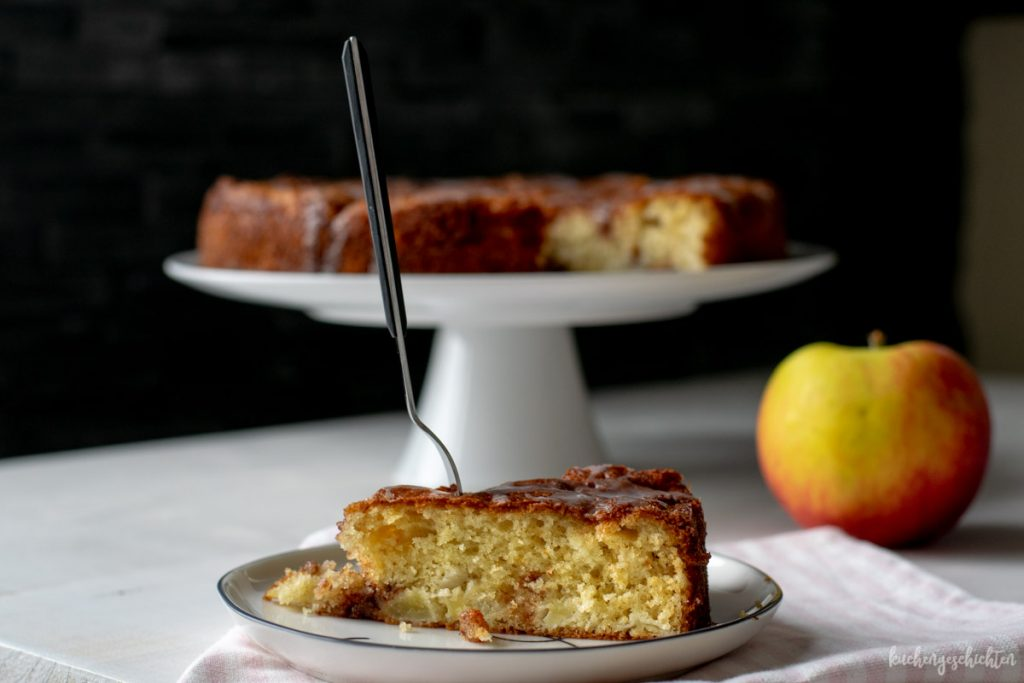 Apfel-Zimt-Kuchen | kuchengeschichten