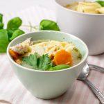 Hühnersuppe mit Tortellini | kuchengeschichten
