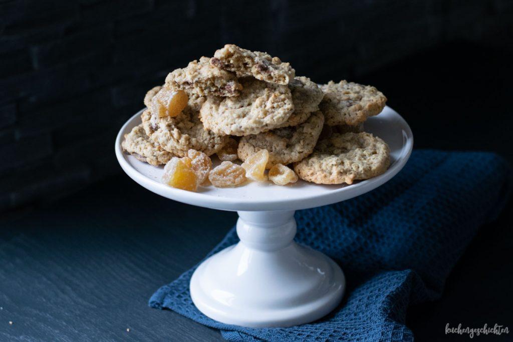 Ingwer-Schoko-Cookies | kuchengeschichten