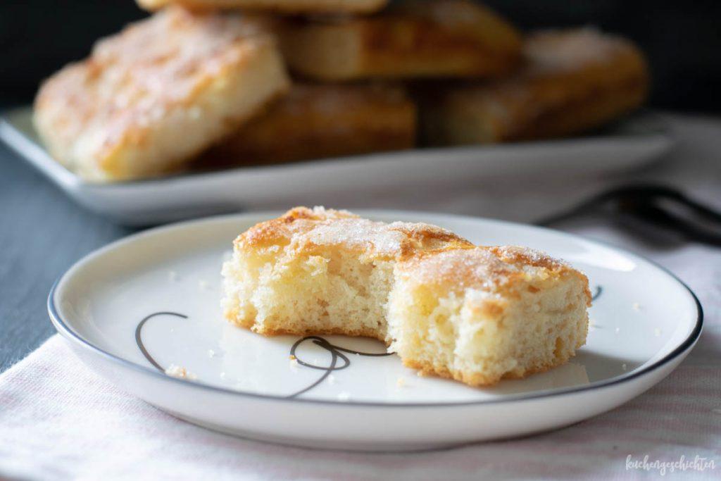 Zuckerkuchen Butterkuchen | kuchengeschichten