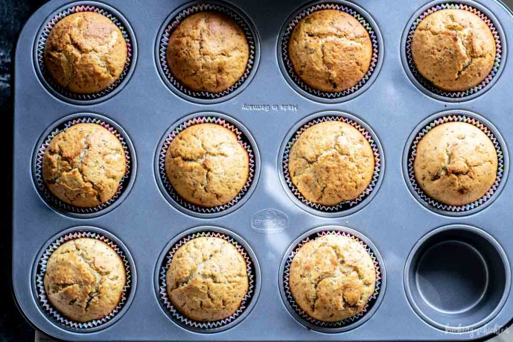 Orangen-Mohn-Muffins | kuchengeschichten