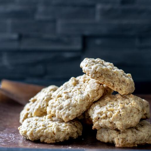 Haferflocken Cookies mit brauner Butter | kuchengeschichten
