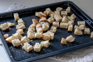 Italienscher Brotsalat Panzanella zum Grillen | kuchengeschichten