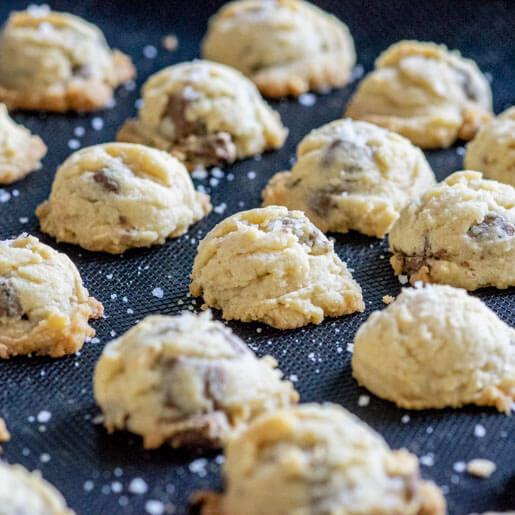 Mini Schokocookies | kuchengeschichten