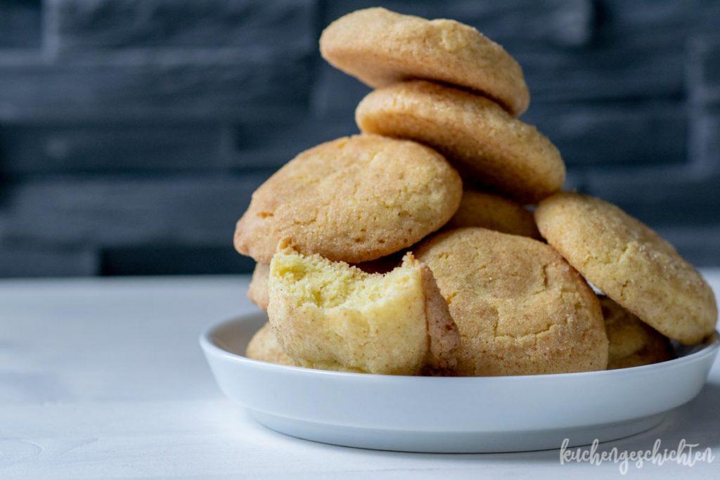 Snickerdoodle Cookies | kuchengeschichten