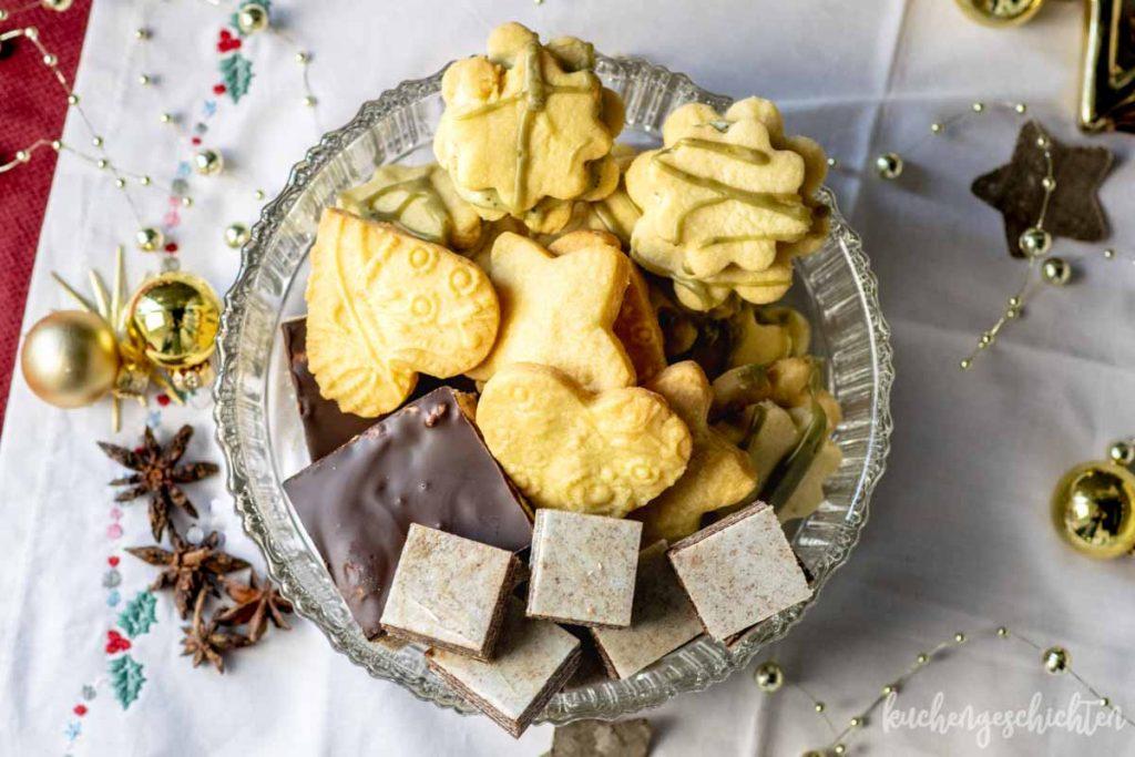 Lebkuchen vom Blech Plätzchen Weihnachtsbacken | kuchengeschichten