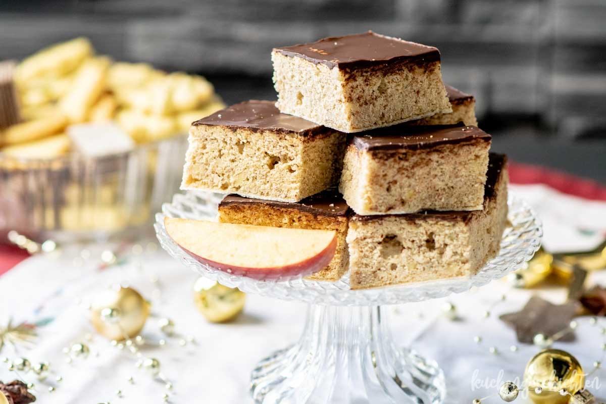 Lebkuchen vom Blech | kuchengeschichten