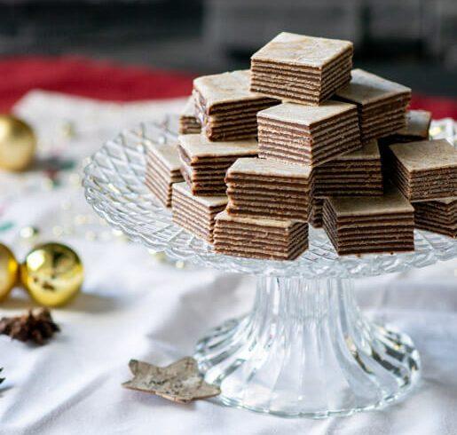 Schokoladinas Oblatenplätzchen | kuchengeschichten