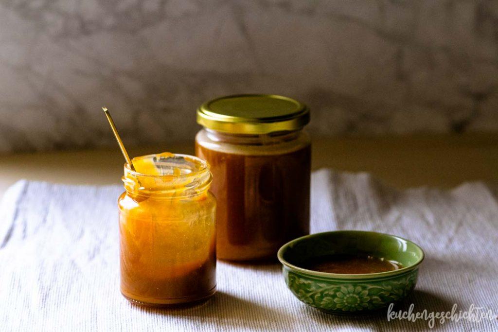Gesalzenes Karamell Karamellsoße | kuchengeschichten