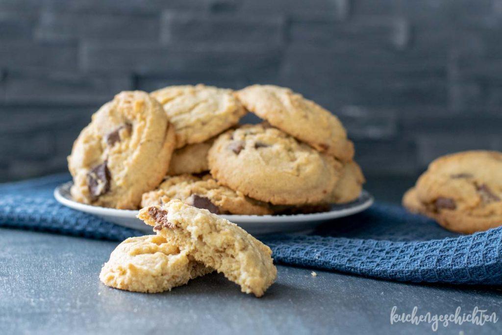 Schoko-Roggen-Cookies | kuchengeschichten