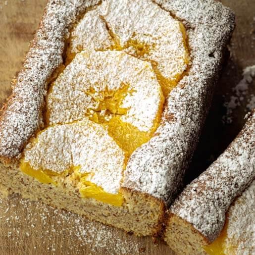 Orange-Mandel-Kuchen zuckerfrei | kuchengeschichten