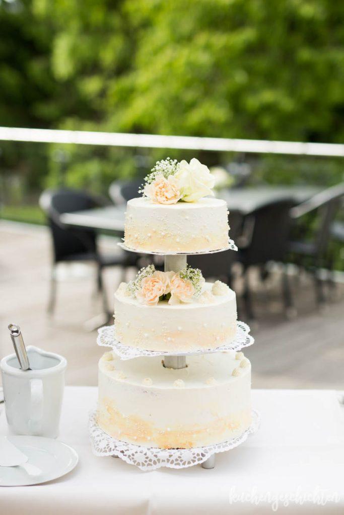 Hochzeitstorte | kuchengeschichten